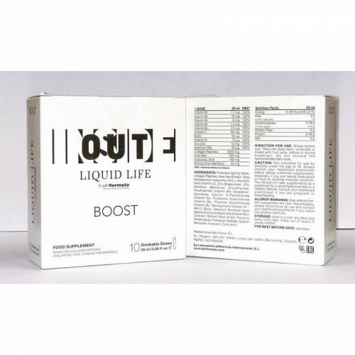 Liquid Life BOOST, 25ml x 10
