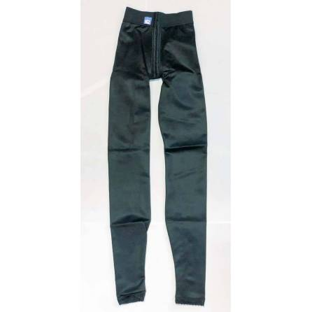 Panty mit normaler Taille, knöchellang, schwarz, Größe 1