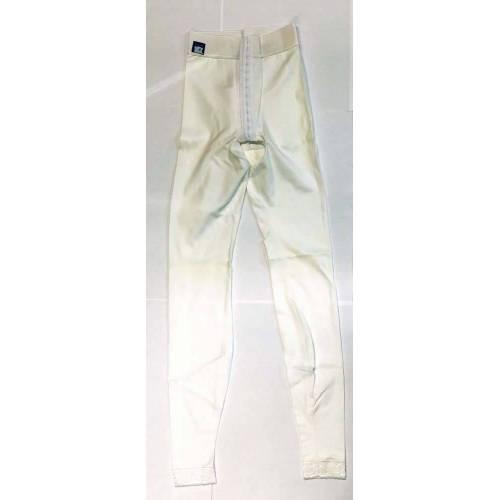 Panty mit normaler Taille, knöchellang, weiß, Größe 1