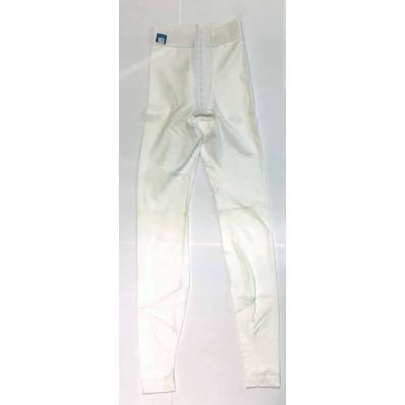 Panty mit normaler Taille, knöchellang, weiß, Größe 6