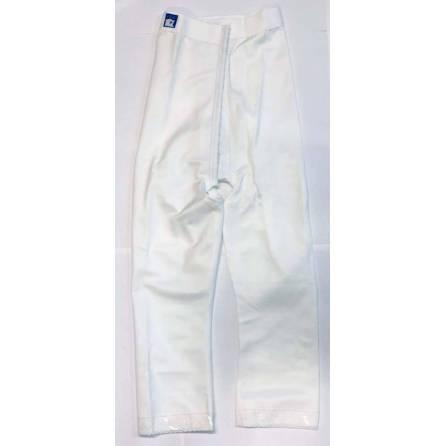 Panty mit hochgezogener Taille, wadenlang, weiß, Größe 2