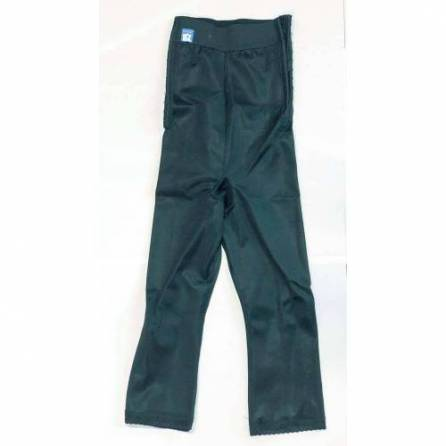 Panty mit hochgezogener Taille, ¾ lang, schwarz, Größe 1