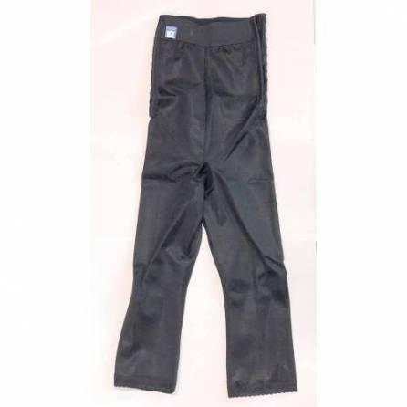 Panty mit hochgezogener Taille, ¾ lang, schwarz, Größe 8