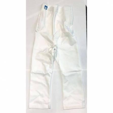 Panty mit hochgezogener Taille, ¾ lang, weiß, Größe 3