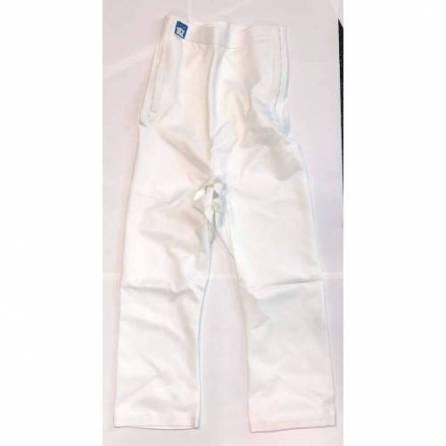 Panty mit hochgezogener Taille, ¾ lang, weiß, Größe 6