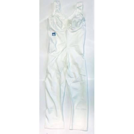 Body mit ¾-langem Bein, Oberkörperlänge bis 78cm, weiß, Größe 2