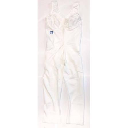 Body mit ¾-langem Bein, Oberkörperlänge bis 78cm, weiß, Größe 5