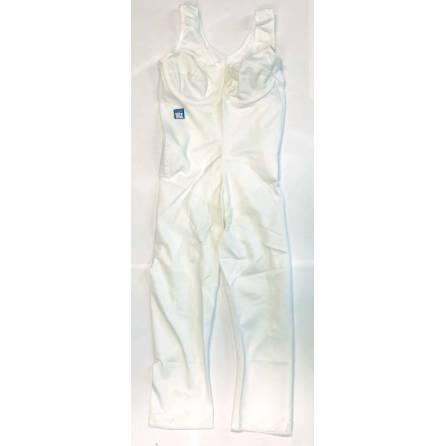 Body mit ¾-langem Bein, Oberkörperlänge bis 78cm, weiß, Größe 1